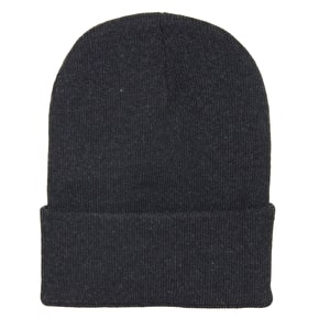 Ground Control Sickle Beanie - Charcoal Grey