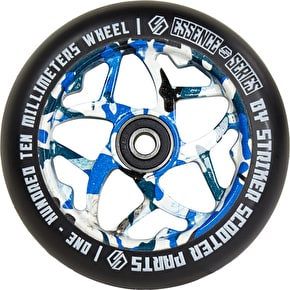 Striker Essence Scooter Wheel - Blue Camo - 110mm