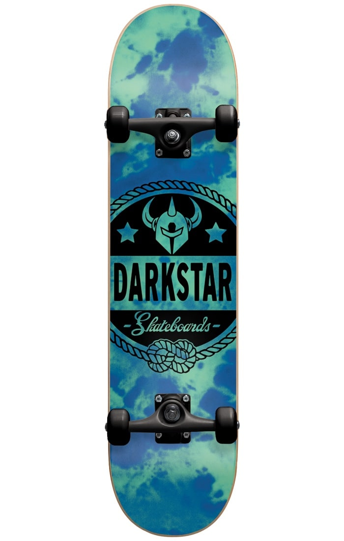 Image of Darkstar General Complete Skateboard - Tie Dye Blue 7.875""
