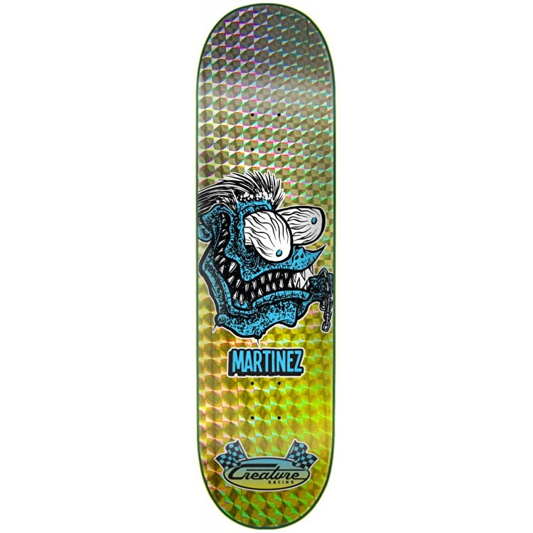 Creature Chain Fink Skateboard Deck - Martinez 8.375""