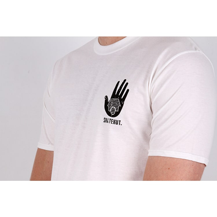 SkateHut All Seeing Eye T-Shirt - White