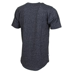 DGK Classic Scalloped T-Shirt - Black Heather