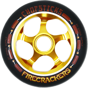 ChopSticks 110mm Firecracker Wheel - Black PU
