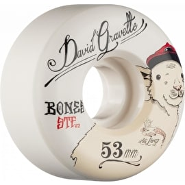 Bones STF Gravette Baby Lamb V2 Skateboard Wheels - 53mm