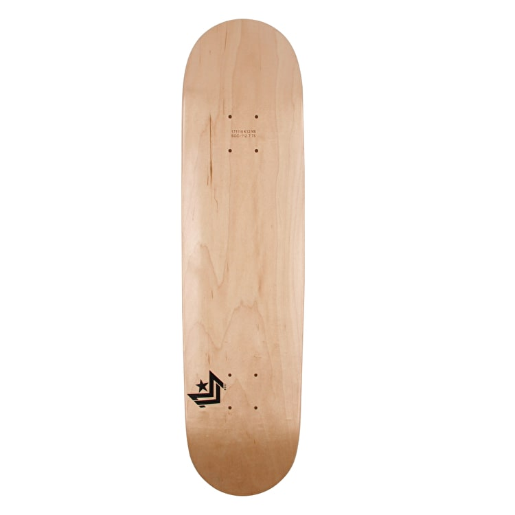 Mini Logo Chevron Skateboard Deck - Natural