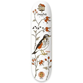 Drawing Boards Seasonal Birds - Redwing Skateboard Deck 8.25