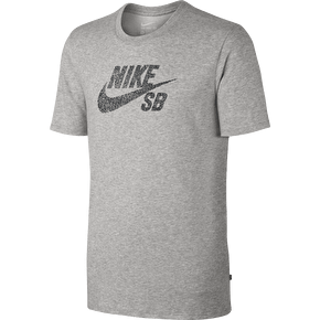 Nike SB Icon Dots T-Shirt - Grey Heather/Black