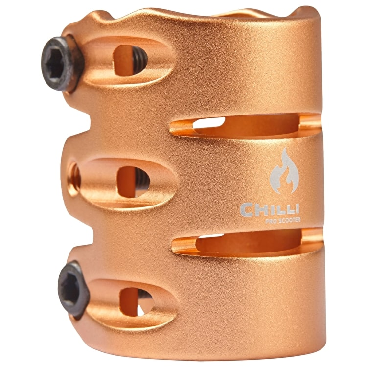 Chilli Pro IHC 3 Bolt Scooter Clamp - Gold
