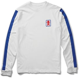 eS x Grizzly Racquet Longsleeve T-Shirt - White
