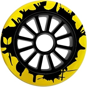 Blazer Pro Scooter Wheel Splatter 12 Spoke 100mm Yellow/Black