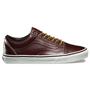 Vans Old Skool Skate Shoes - (Ground Breakers) Rum Raisin/Marshmallow