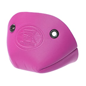 Riedell Leather Toe Cap- Hot Pink