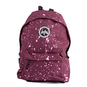 Hype Speckle Backpack-Burgundy