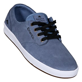 Emerica The Romero Skate Shoes - Blue/White/Gum