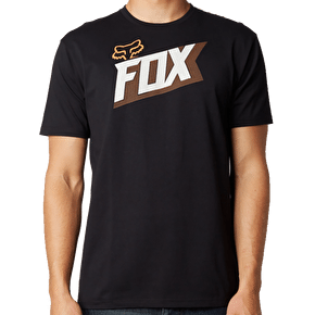 Fox Content T-Shirt - Black