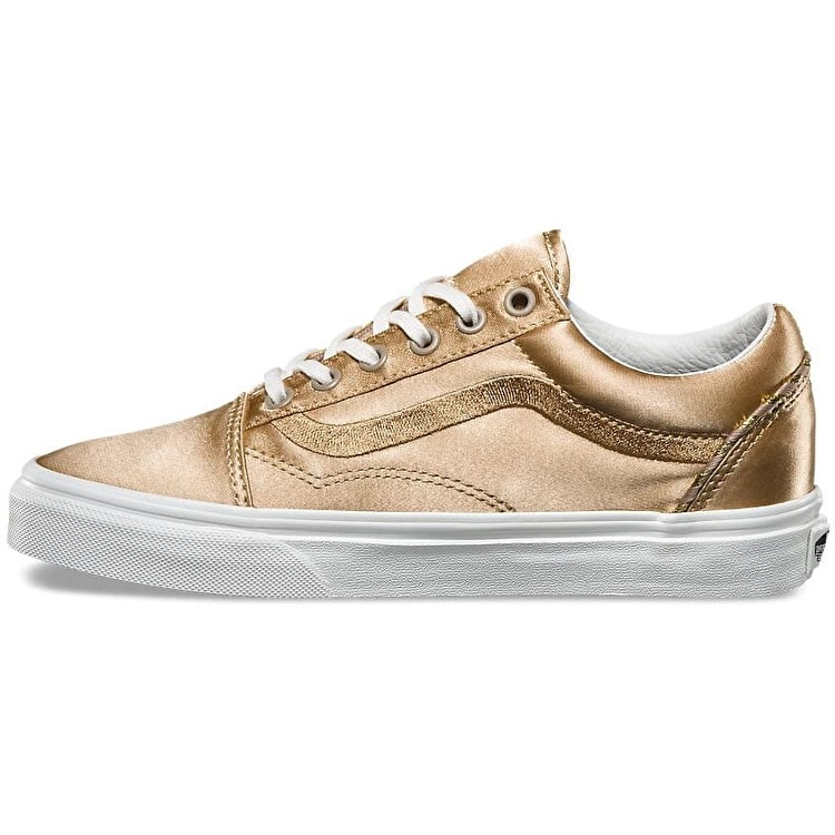 Vans Old Skool DX Skate Shoes - (California Souvenir) Greige/Blanc De Blanc
