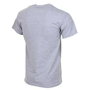 SkateHut Arch T-Shirt - Heather Grey