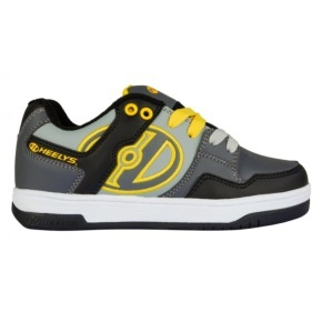Heelys Flow - Black/Grey/Yellow