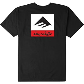 Emerica x Chocolate T-Shirt - Black
