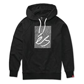 eS Main Block Fleece Hoodie - Black