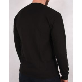 Grizzly Roots Longsleeve T-Shirt - Black