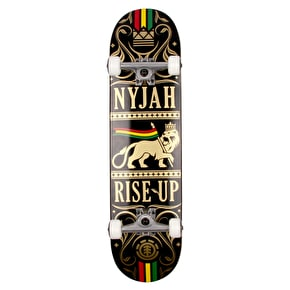 Element Nyjah Rise Up Lion Complete Skateboard - 8