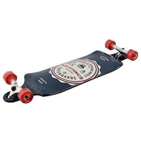 Kryptonic Drop Down Complete Longboard - American Label 34''