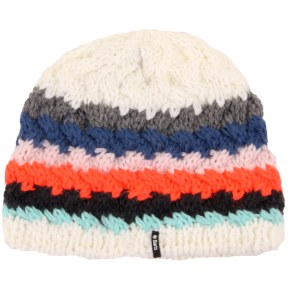 Barts Swirlie Beanie - White Stripes