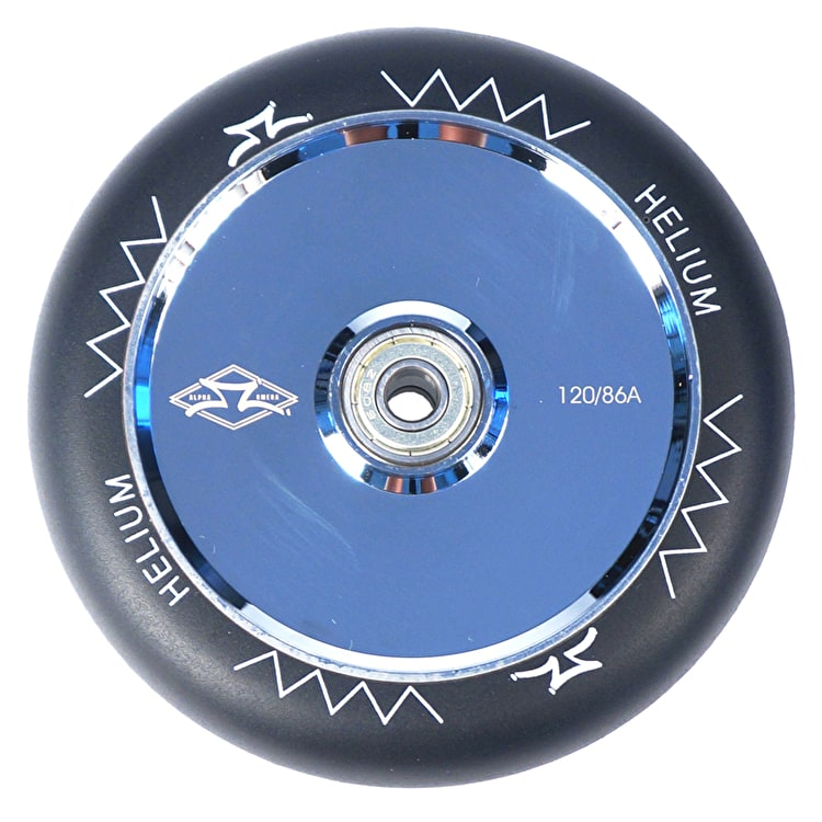 AO Helium 120mm Scooter Wheel - Chrome