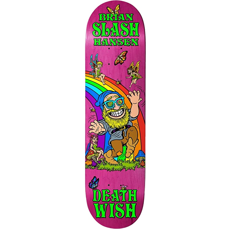 Deathwish Happy Place - Slash Skateboard Deck 8""