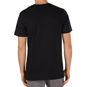 Vans Print Box Pocket T-Shirt - Black/Decay Palm
