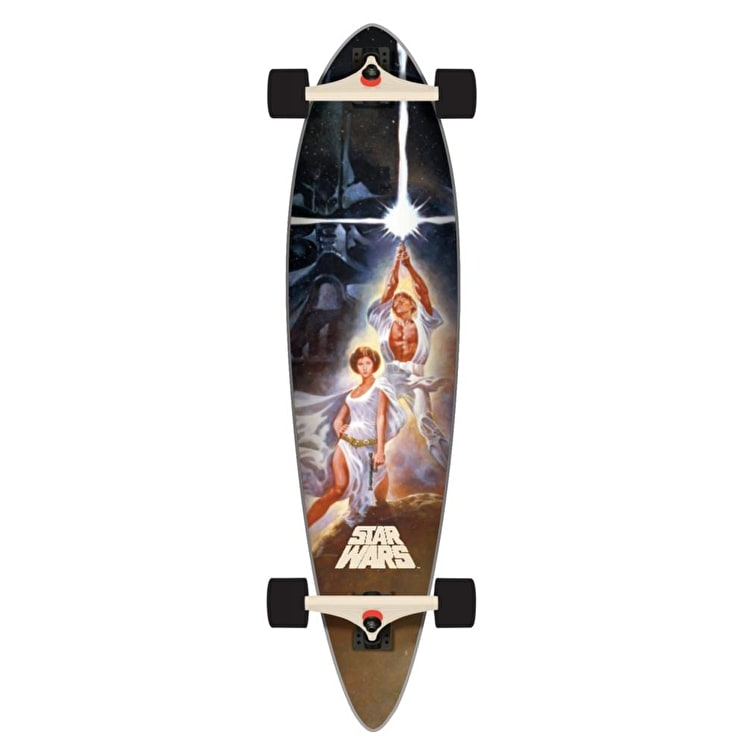 "Santa Cruz x Star Wars A New Hope Poster 39"" Cruiser"