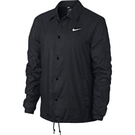 Nike SB Shield Coaches Jacket - Black/White