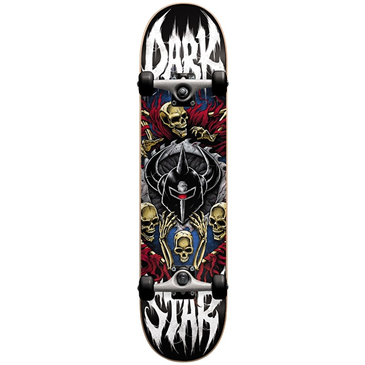 Darkstar Crusade Complete Skateboard - Red 8""