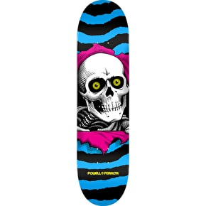 Powell Peralta CMYK Ripper Skateboard Deck - Blue/Pink 7