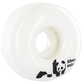 Enjoi Panda Skateboard Wheels - Whitey 53mm (Pack of 4)