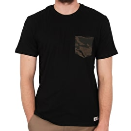 Element Declo Pocket T shirt - Flint Black
