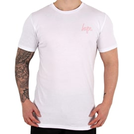 Hype Cat Grid T-Shirt - White/Blue/Pink