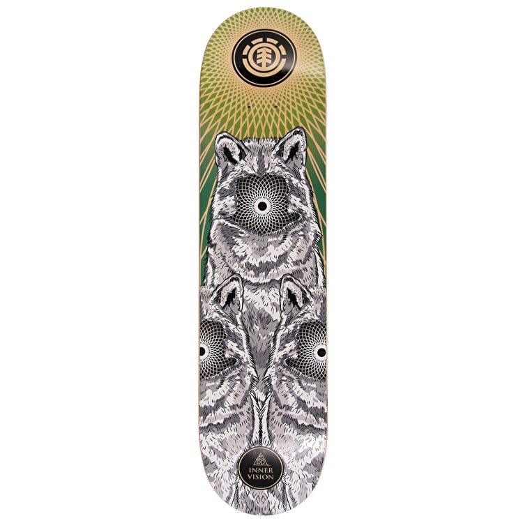 Element Inner Vision Featherlight Skateboard Deck - 7.75""