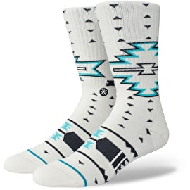 Stance Leckey Socks - White