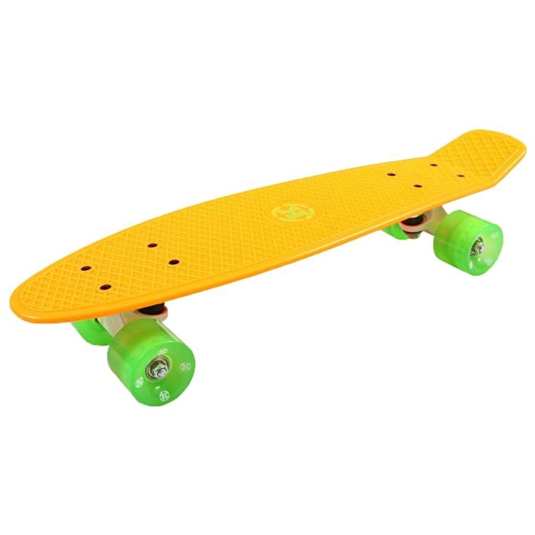 Madd Krunk Retro 81 Skateboard - Orange / Green