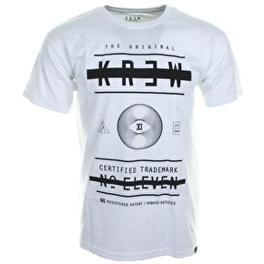 Kr3w Block Out T-Shirt - White