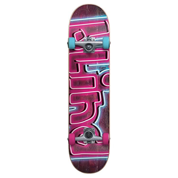 Blind Kids Complete Skateboard - Late Night Pink/Blue 6.5""