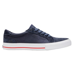 State Hudson Skate Shoes - Navy/White/Red