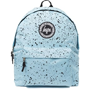 Hype Speckle Backpack - Sky Blue/Black