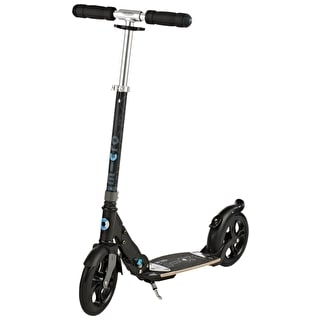 Micro Flex Deluxe Folding Commuter Scooter - Matt Black