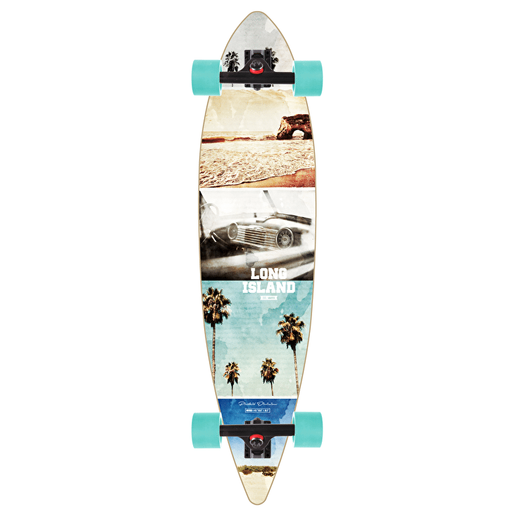 "Long Island California 40"" Pintail Longboard"