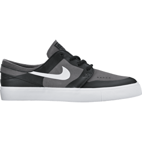 Nike SB Stefan Janoski Elite Skate Shoes - Dark Grey/White