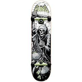 Blind Justice Premium Youth Complete Skateboard - Green 7.25