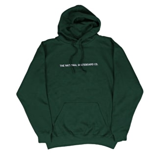 National Skateboard Co Classic Hoodie - Forest Green